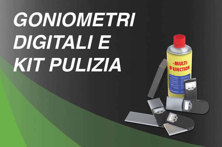 Goniometro Digitale e Kit Pulizia
